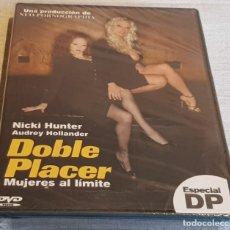 Peliculas: DOBLE PLACER / MUJERES AL LÍMITE / NICKI HUNTER-AUDREY HOLLANDER / DVD-PRECINTADO.. Lote 202436213