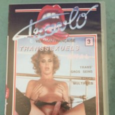 Peliculas: TRAVLO ANAL - TRANSEXUALES - HARD SEX TRAVESTIS - VHS - CINE X - 1999. Lote 202599066