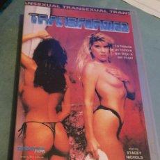 Peliculas: TRANSFORMED - SENSATIONS FILMS - VHS - CINE X - ESPECIAL TRANSEXUALES. Lote 202654440