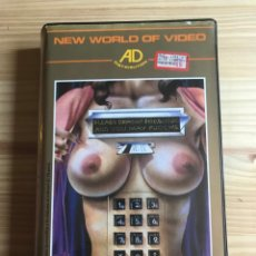 Peliculas: NEW WORLD OF VIDEO - HOT BABIES - AD DISTRIBUTION - X9 VHS. Lote 203961041