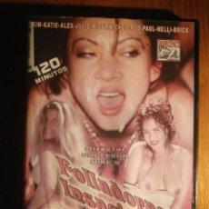 Peliculas: PELICULA ADULTOS DVD - INDECENCY - FOLLADORAS INSACIABLES -. Lote 204711970