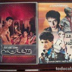 Peliculas: LOTE 2 DVD XXX JEAN DANIEL CADINOT / TEMATICA GAY / J D CADINOT. Lote 204753326