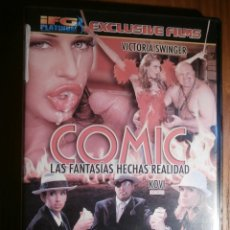 Peliculas: PELICULA ADULTOS DVD - IFG PLATINUM - COMIC, FANTASIAS HECHAS REALIDAD, VICTORIA SWINGER. Lote 204843367
