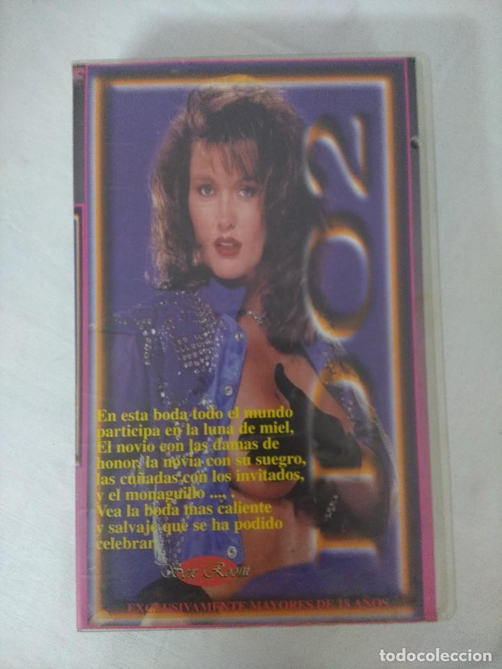 VHS EROTICO/ID 002/HYPATIA LEE/ROCCO SIFFREDI. (Coleccionismo para Adultos - Películas)