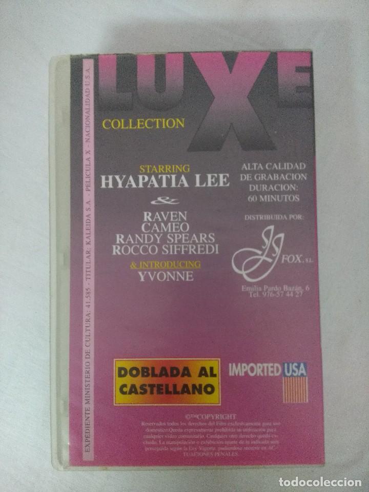 Peliculas: VHS EROTICO/ID 002/HYPATIA LEE/ROCCO SIFFREDI. - Foto 2 - 205520886