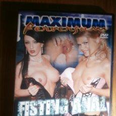 Peliculas: PELÍCULA DE ADULTOS EN DVD - PAPILLÓN FILMS - MAXIMUM PERVERSUM - FISTING ANAL. Lote 205720827