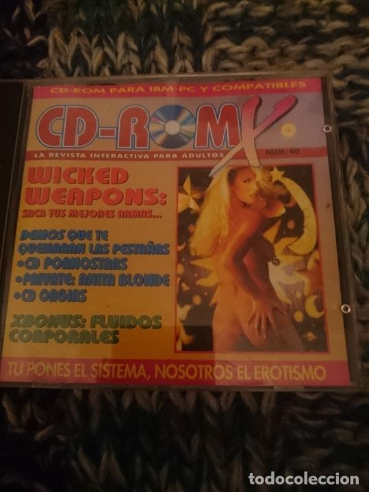 CD-ROMX EROTICO- CORTOMETRAJES EROTICOS -VER FOTO (Coleccionismo para Adultos - Películas)