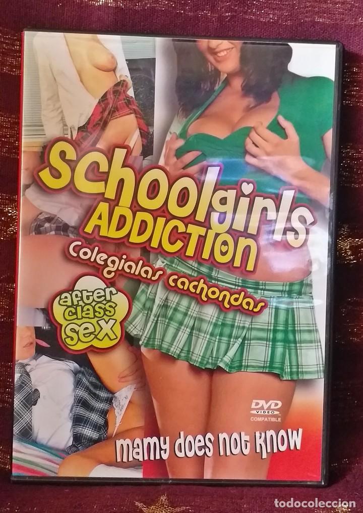 PELICULA PARA ADULTOS EN DVD - COLEGIALAS CACHONDAS - EXCELENTE ESTADO. (Coleccionismo para Adultos - Películas)