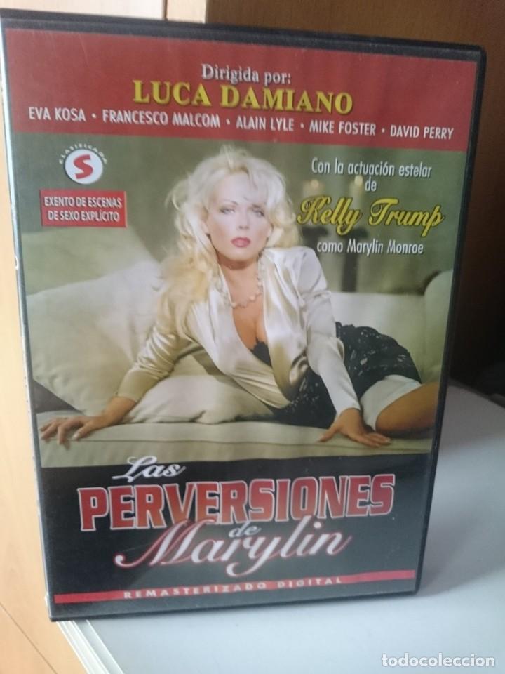 DVD PELICULA X - LAS PERVERSIONES DE MARYLIN - LUCA DAMIANO (Coleccionismo para Adultos - Películas)