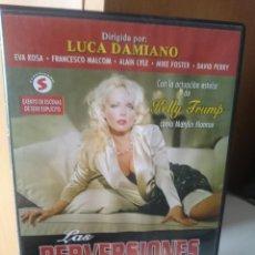 Peliculas: DVD PELICULA X - LAS PERVERSIONES DE MARYLIN - LUCA DAMIANO. Lote 53645001