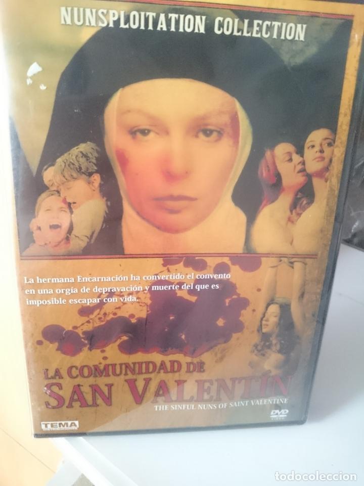 DVD LA COMUNIDAD DE SAN VALENTIN (Coleccionismo para Adultos - Películas)