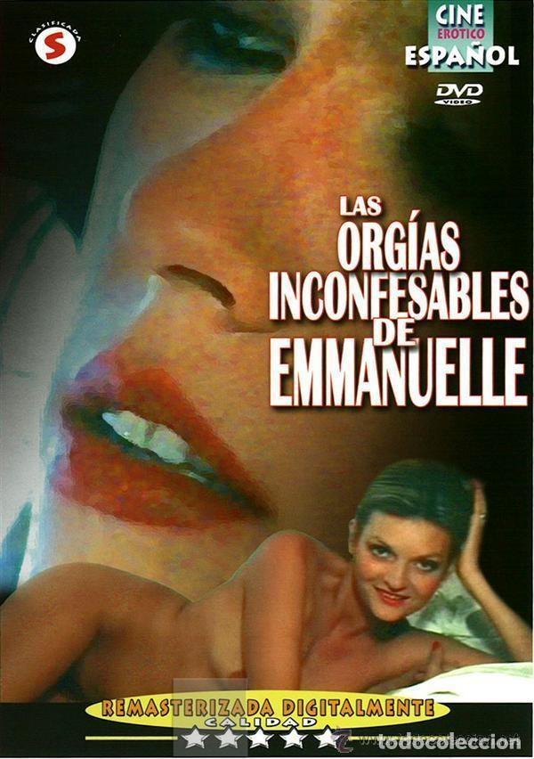 DVD LAS ORGÍAS INCONFESABLES DE EMMANUELLE (Coleccionismo para Adultos - Películas)