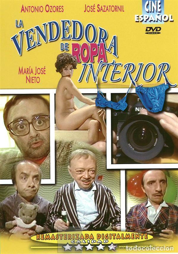 DVD LA VENDEDORA DE ROPA INTERIOR -ANTONIO OZORES -MARIA JOSE NIETO -JOSE SAZATORNIL (Coleccionismo para Adultos - Películas)