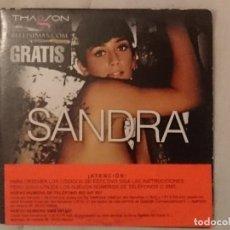 Peliculas: DVD EROTICO -THAGSON - SANDRA. Lote 208792081