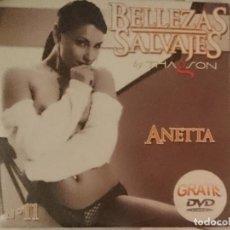Peliculas: DVD EROTICO - BELLEZAS SALVAJES - THAGSON - ANETTA. Lote 208793820