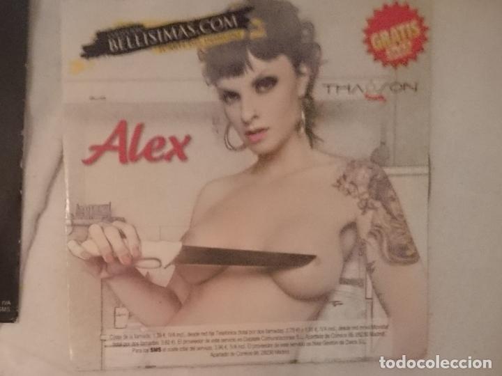 DVD EROTICO - BELLISIMAS - THAGSON - ALEX (Coleccionismo para Adultos - Películas)