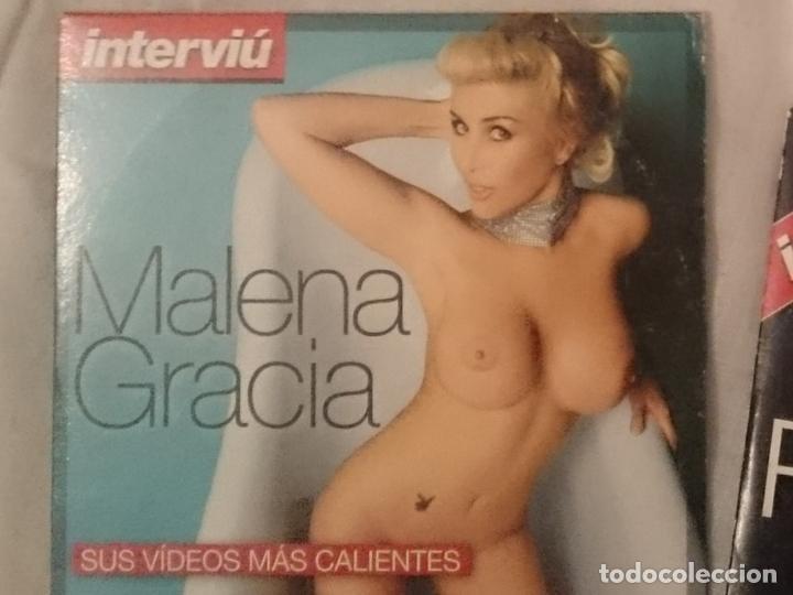 DVD EROTICO - INTERVIU - MALENA GRACIA (Coleccionismo para Adultos - Películas)