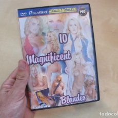 Peliculas: PELICULA DVD PORNO 10 MAGNIFICENT BLONDES PLEASERE PRODUCTIONS. Lote 210087847