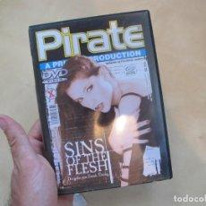 Peliculas: PELICULA DVD PORNO PIRATE. SINGS OF THE FLESH. Lote 210088296