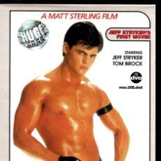 Peliculas: BIGGER THAN LIFE (DVD PRECINTADO DESCATALOGADO) DEL REY DEL CINE GAY JEFF STRYKER. Lote 210758816