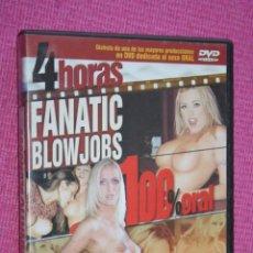 Peliculas: FANATIC BLOWJOBS * PELÍCULA ERÓTICA * DVD PARA ADULTOS CINE X * TENGO MÁS FILMS DIFERENTES * OFERTA. Lote 210787982