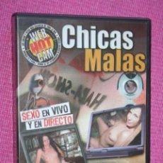Peliculas: CHICAS MALAS * PELÍCULA ERÓTICA * DVD PARA ADULTOS CINE X * TENGO MÁS FILMS DIFERENTES * OFERTA:. Lote 210788277