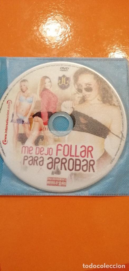 CAJ-101217 DVD SIN CARATULA ME DEJO FOLLAR PARA APROBAR (Coleccionismo para Adultos - Películas)