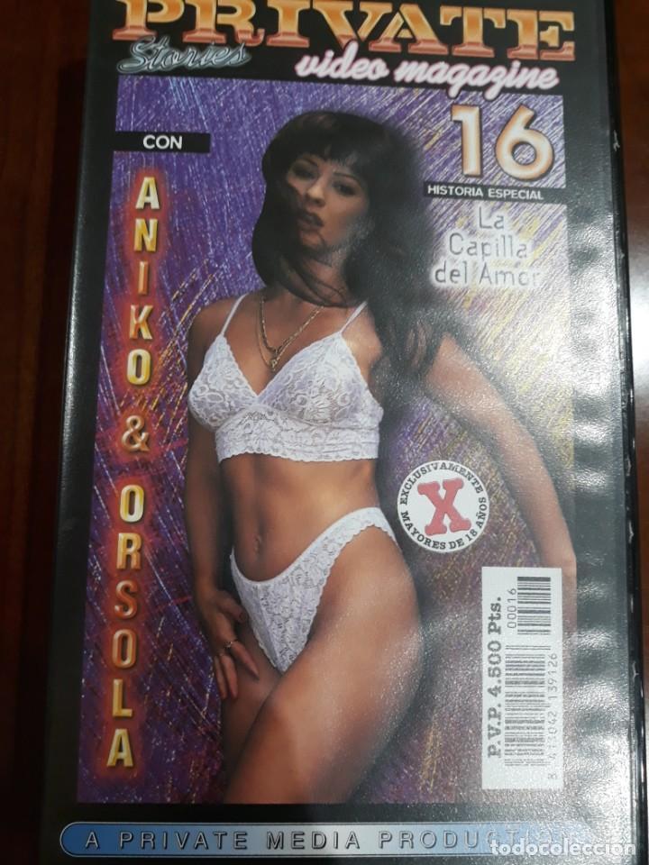 PRIVATE VHS STORIES NÚMERO 16 (Coleccionismo para Adultos - Películas)