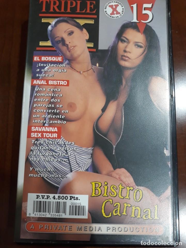 PRIVATE VHS TRIPLE X VIDEO NÚMERO 15 (Coleccionismo para Adultos - Películas)