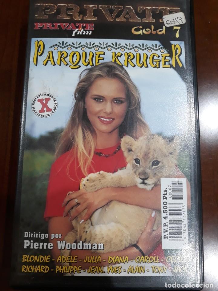 PRIVATE VHS GOLD NÚMERO 7 KRUGER PARK (Coleccionismo para Adultos - Películas)