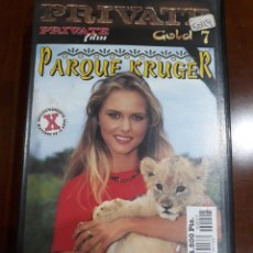 Peliculas: PRIVATE VHS GOLD NÚMERO 7 KRUGER PARK. Lote 212806495