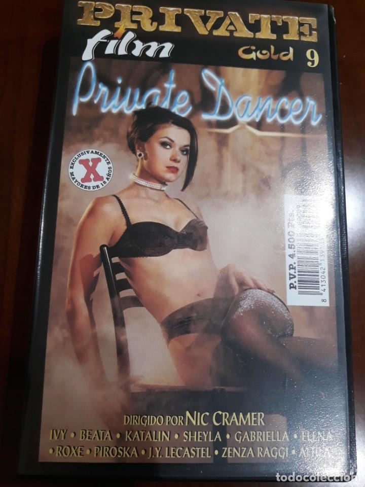 PRIVATE VHS GOLD NÚMERO 9 PRIVATE DANCER (Coleccionismo para Adultos - Películas)