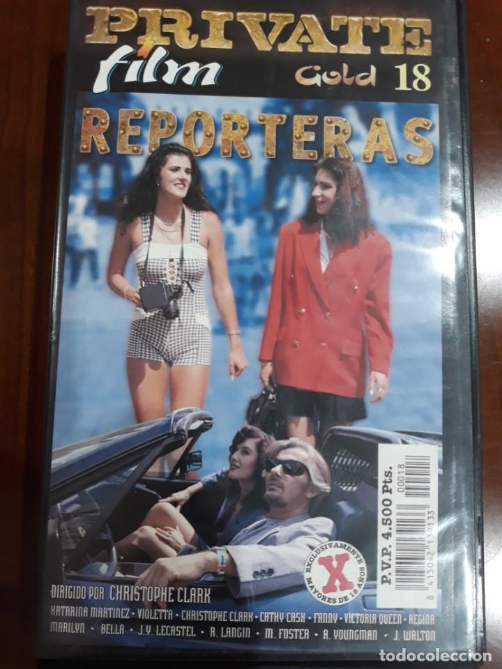 PRIVATE VHS GOLD NÚMERO 18 REPORTERAS (Coleccionismo para Adultos - Películas)