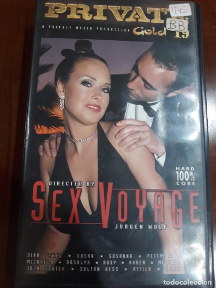 PRIVATE VHS GOLD NÚMERO 19 SEX VOYAGE (Coleccionismo para Adultos - Películas)