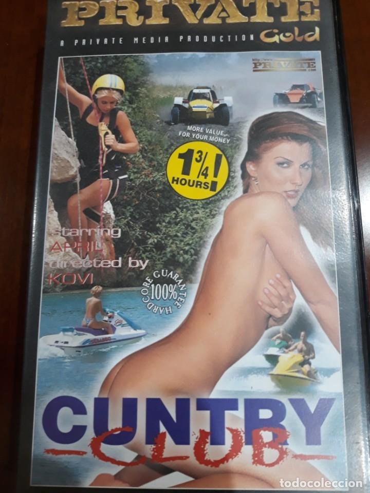 PRIVATE VHS GOLD NÚMERO 33 CUNTRY CLUB (Coleccionismo para Adultos - Películas)
