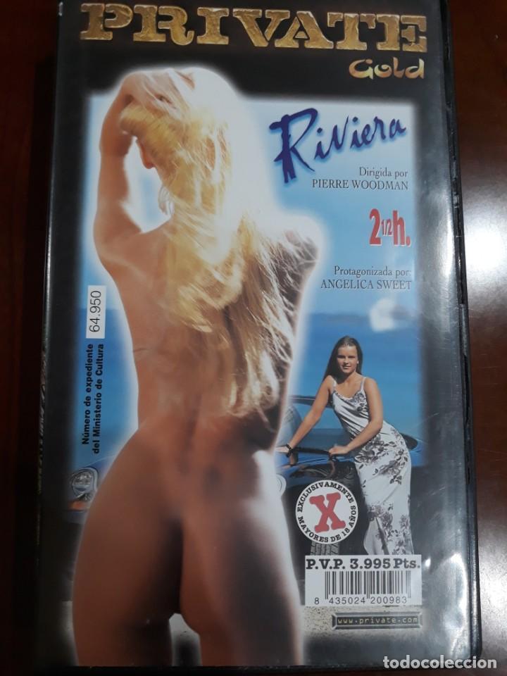 PRIVATE VHS GOLD NÚMERO 44 RIVIERA (Coleccionismo para Adultos - Películas)