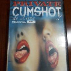 Peliculas: PRIVATE VHS CUMSHOT DE LUXE 2. Lote 212806993