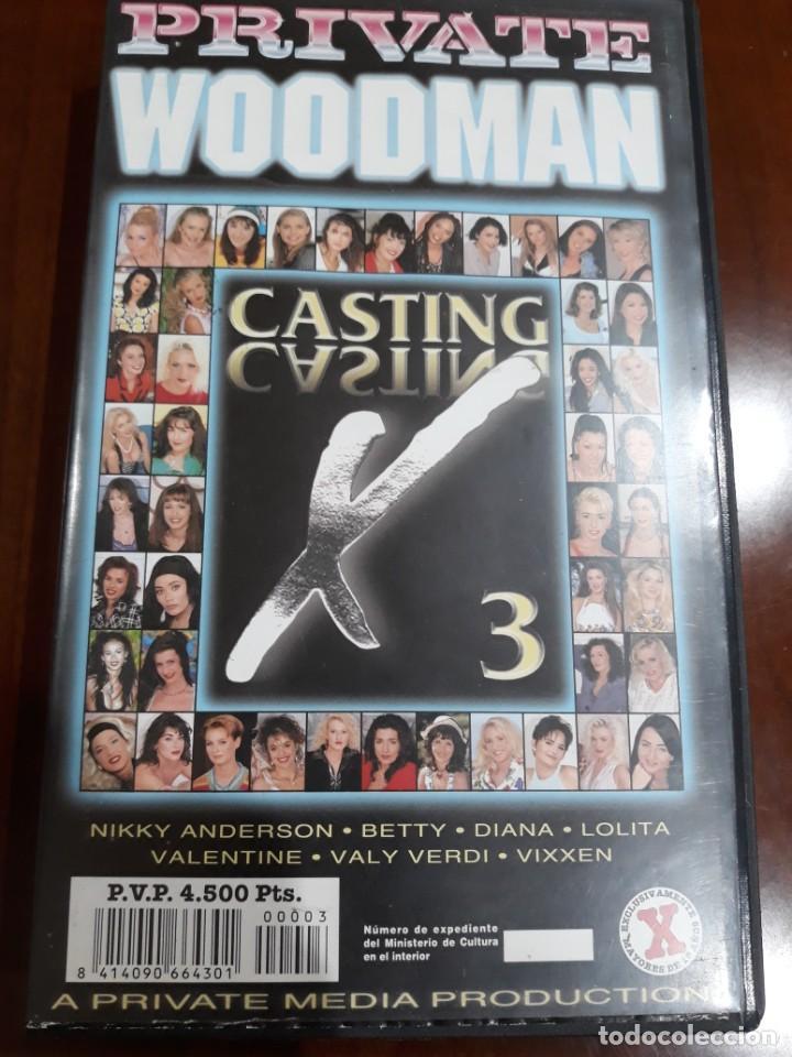 PRIVATE VHS WOODMAN CASTING NÚMERO 3 (Coleccionismo para Adultos - Películas)