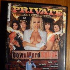 Peliculas: PELÍCULA DE ADULTOS EN DVD - PRIVATE - BLOCKBUSTERS - DOWN WARD SPIRAL - CAYENNE KLEIN. Lote 213546431