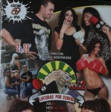 Peliculas: LOCURAS X DINERO EN LA CALLE VOL. 2 - DVD PRECINTADO - IFG - LECHE69. Lote 213830963
