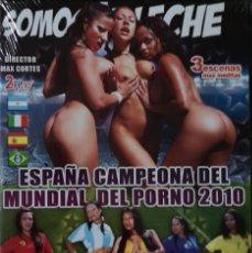 Peliculas: ESPAÑA CAMPEONA DEL MUNDO MUNDIAL DEL PORNO 2010 - DVD PRECINTADO - IFG -. Lote 213830973