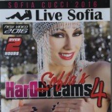 Peliculas: SOFIA CUCCI - LIFE SOFIA - SOFIA HARDDREAMS 4 - DVD PRECINTADO - XTIME.TV. Lote 213830991