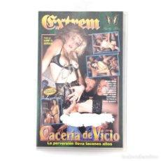 Peliculas: CACERIA DE VICIO ROXANA GRAND CAROLE MAY FLEURE KISSI SIMONE GAN ELISA VANDENBURG HARRY S MORGAN VHS. Lote 218257075