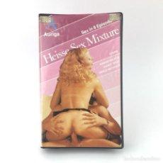 Peliculas: HEISSE SEX MIXTURE, MIXED BAG SAMANTHA FOX´S FANTASIES MERLE MICHAELS VANESSA DEL RIO RANDY WEST VHS. Lote 219011157
