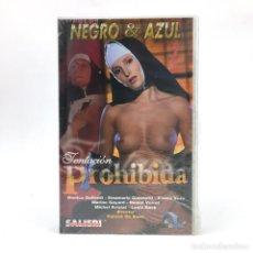 Peliculas: TENTACION PROHIBIDA PRECINTADA MONICA GOFFREDI EMANUELA GIANNETTI ELIANA VES MARINE GOYARD MONJA VHS. Lote 219021766