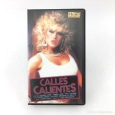Peliculas: CALLES CALIENTES DESIREE LANE AMBER LYNN SASHA CABOR COLLEENN BRENNAN MAI LIN PAUL THOMAS A UNO. VHS. Lote 219130801