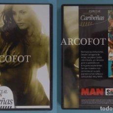 Peliculas: DVD MAN - ESPECIAL MODELOS CARIBEÑAS. Lote 219169945