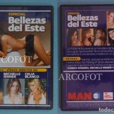Peliculas: DVD MAN - ESPECIAL BELLEZAS DEL ESTE. Lote 219170642