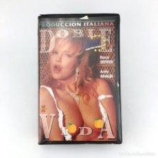 Peliculas: DOBLE VIDA ANITA RINALDI ROCCO SIFFREDI SIMONA VALLI JOEY SILVERA ALEX PERRY SERENNA X PORNO XXX VHS. Lote 219243902