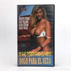 Peliculas: NO HAY TIEMPO PARA AMOR SOLO SEXO JENNIFER STEWART CASEY WILLIAMS ALISIN STERLING ASHLEY NICOLE VHS. Lote 219345317